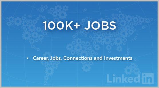 100K+ Jobs