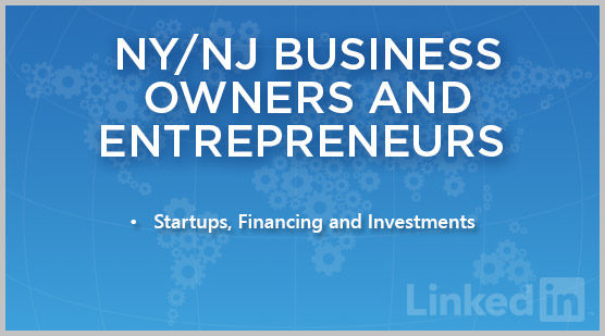 NY/NJ Business Owners and Entrepreneurs
