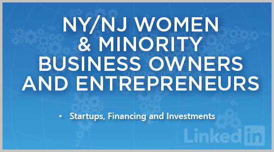 NY/NJ Women & Minority Business Owners and Entrepreneurs