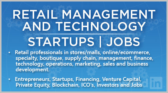 Retail Management and Technology | Startups | Jobs