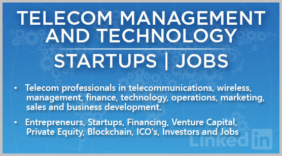 Telecom Management and Technology | Startups | Jobs