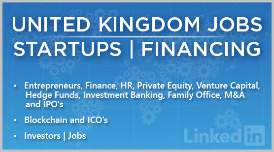 United Kingdom Jobs | Startups | Financing